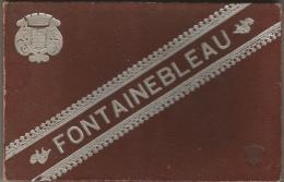 Fontainebleau - Très Beau Carnet En Accordéon De 23 Photos - Intérieur, Extérieur Du Chateau, Obélisque, Tour Dénecourt - Reproductions