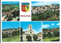 Multivues -ROSANS -Vues Générales, V. V. F., L' Eglise - Autres Communes