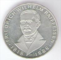GERMANIA 5 MARK 1968 AG SILVER - [ 7] 1949-… : RFA - Rep. Fed. Tedesca
