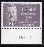 "FRANCE : N° 2455 ** Bord De Feuille ""T.D.6-2"" (Eugène Jamot, Médecin) - PRIX FIXE - - Frankrijk"