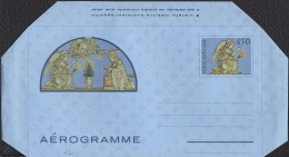 """VATICANO - AEROGRAMMA AEROGRAMME - ANDREA DELLA ROBBIA - 1982 - L. 450 - CATALOGO FILAGRANO """"A20"""" - NUOVO - Interi Postali"""