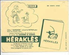 BUVARD: Herakles, L´Egypte - Buvards, Protège-cahiers Illustrés