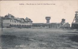 """Pas De Calais 62  Lievin  """"  Place St Amé Et L'ecole N° 3 Des Mines De Lens   """" - Lievin"""