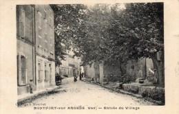 83- MONTFORT-sur-ARGENS    Entrée Du Village    Ed  Roux      CPA - Altri Comuni