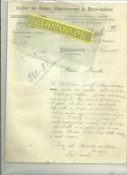 54 - Meurthe-moselle - DIEULOUARD - Facture AIGLE - Charron – 1912 - 1900 – 1949