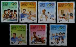 ANNEE PREOLYMPIQUE LOS ANGELES 1983  NEUFS ** - YT 208/14 - MI 690/96 - Guinée-Bissau