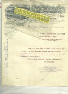54 - Meurthe-moselle - DOMBASLE-SUR-MEURTHE - Facture LA LORRAINE - Coopérative De Consommation – 1918 - France