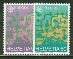 SWITZERLAND 1988 EUROPA CEPT    MNH - 1988