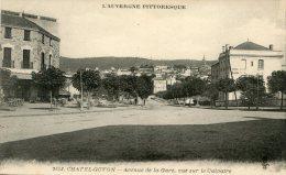 B3847 Chatelguyon - Avenue De La Gare - Châtel-Guyon