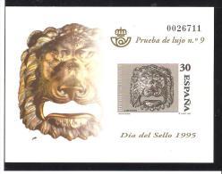 PRUEBA DE LUJO -EPREUVE DE LUXE ESPAÑA  1995 - 1931-Hoy: 2ª República - ... Juan Carlos I