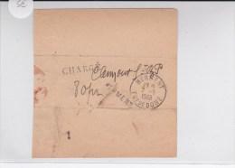 PUY DE DOME - 1948 - COUPON D'ACCOMPAGNEMENT Des COURRIERS De CLERMONT à HERMENT ALLER ET RETOUR - Marcophilie (Lettres)