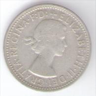 AUSTRALIA SHILLING 1955 AG SILVER - Moneta Pre-decimale (1910-1965)