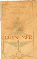WW1 - AVIATION GUYNEMER LIVRET DE 16 PAGES  Taille 15cmx23cm  AVIATEUR - Vecchi Documenti
