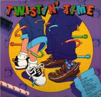* LP *  TWISTIN' TIME - VARIOUS ARTISTS (USA 1982 EX-!!!) - Rock