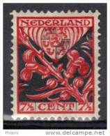 PAYS BAS Y&T N° 197 X.  (MNT5) - 1891-1948 (Wilhelmine)