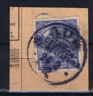 Deutsche Post In Südwestafrika  AUS Mi 27,  Voll-Stempel Auf Briefstück - Kolonie: Deutsch-Südwestafrika