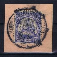 Deutsche Post In Südwestafrika  Johann-Albrechtshöe Mi 27,  Voll-Stempel Auf Briefstück - Kolonie: Deutsch-Südwestafrika