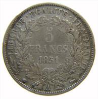FRANCIA - 5 FRANCS 1851 A CERES - ARGENT - Francia