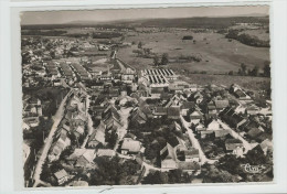 CPSM 90 - GRANDVILLARD - Vue Aérienne - La Localité Et Les Usines Du Château - TB Plan Du Centre Du Village Avec Détails - Grandvillars