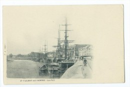 CPA - St Valery Sur Somme - Le Port - Saint Valery Sur Somme