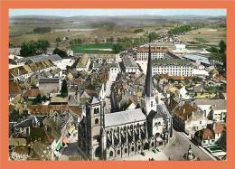 21 - AUXONNE Vue Sur L' Eglise Notre Dame // CPSM Dentelée - Auxonne
