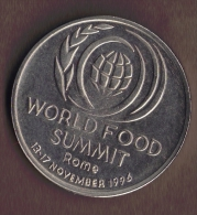 ROMANIA 10 LEI 1996 WORLD FOOD SUMMIT  KM# 126 - Roumanie