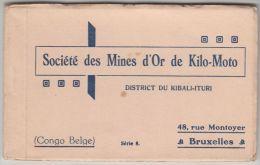 20955g CONGO BELGE - Société Des Mines D'Or Kilo-Moto - District Du Kibali-Ituri - Serie 8 - Carnet Contenant 10 Cartes - Congo Belge - Autres