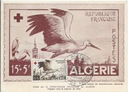 Croix Rouge Française En Algérie, 6 Avril 1957 - Croix-Rouge