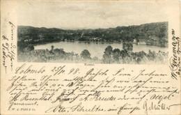 AK Kandy  මහ නුව# 15;  Maha Nuvara கண் 75;ி 1898 Panorama - Sri Lanka (Ceylon)
