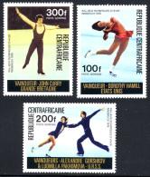 Centrafrique 0150/52** Vainqueurs Aux Jeux Olympiques Innsbruck  MNH