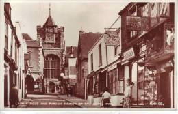 ROYAUME UNI - RYE - Lion Street And Parish Church Of St Mary - D11 12 - Rye