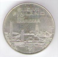 FINLANDIA 1 MARKKAA 1971 AG SILVER - Finlandia