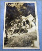 AFRICA ORIENTALE ITALIANE . GUERRA ITALO-ETIOPE MILITARI ITALIANI E ASCARI INDIGENI 1935-1936 # IN ETIOPIA  TENDA T - Guerre, Militaire
