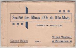 20954g CONGO BELGE - Société Des Mines D'Or Kilo-Moto - District Du Kibali-Ituri - Serie 2 - Carnet Contenant 9 Cartes - Congo Belge - Autres