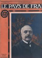 LE PAYS DE FRANCE 3 02 1916 - ITALIE ANTONIO SALANDRA - SERBIE ALBANIE MONTENEGRO - YSER - MIKADO JAPON - AVION FOKKER - Kranten