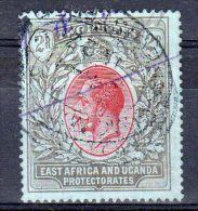 1927  East Afrika And Uganda Protectorates, Y&T No.  143 / Scott No.50, Oblitéré, Lot 40528 - Kenya, Uganda & Tanganyika