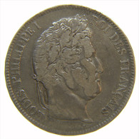 FRANCIA - 5 FRANCS LOUIS PHILIPPE 1832 BB En Argent - Francia