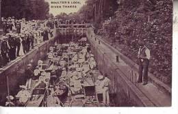 ROYAUME UNI - ANGLETERRE - (animé) Boulter´s Lock - River Thames - D4 263 - Inghilterra