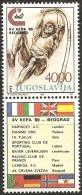 Yugoslavia,XV League Cup In Athletics In Belgrade 1989.,vg-d,MNH - 1945-1992 Socialist Federal Republic Of Yugoslavia