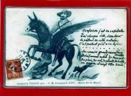 - TOULON -  Carnaval 1904 - SM  Caramantran XXVI - Maurin Roi  Des Maures - Toulon