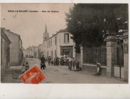 Nieul Le Dolent Rue Du Centre - Autres Communes