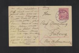 Österreich GSK 1919 Innsbruck In Die Schweiz Zensur - 1918-1945 1. Republik