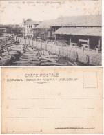 Cartolina Postale Di Savigliano-Le Officine Della Società Nazionale(3)-non  Viaggiata. - Cuneo