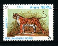 NEPAL - TIGRI -tigres -tigers -year 1975 -  Timbrato - Stamped -affranchiè -gestempelt. - Big Cats (cats Of Prey)