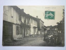 SARAMON  (Gers)  :   Le  FORAIL  -  Carte Animée     - Sonstige Gemeinden