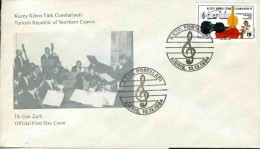 REPUBLIQUE TURQUE DE CHYPRE DU NORD - 1984 - ORCHESTRE CHAMBRE DE NUREMBERG - Muziek
