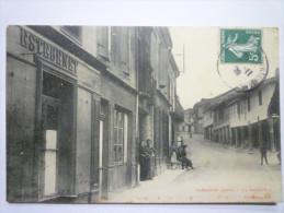 SARAMON  (Gers)  :   La  GRAND´RUE  -  Carte Animée  - Sonstige Gemeinden