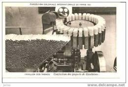 PAVILLON DES TABACS CONFECTION DES PAQUETS DE GAULOISES REF 1319 - Industry