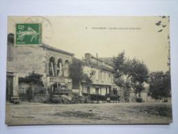 SARAMON  (Gers)  :   Les  BOULEVARDS   (côté Est) - Sonstige Gemeinden