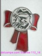 V.I. Lenin Russia Revolutionist, Scientist, Communist, Leader Soviet People / Soviet Badge 119_14_5447 - Personnes Célèbres